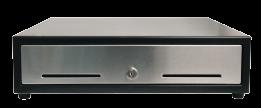 Black cash drawer for pos system