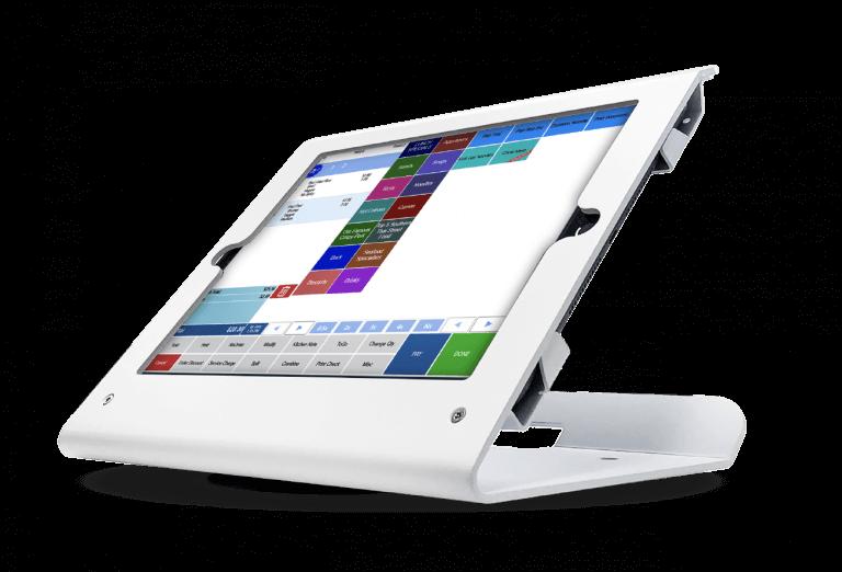 Tablet self-order kiosks