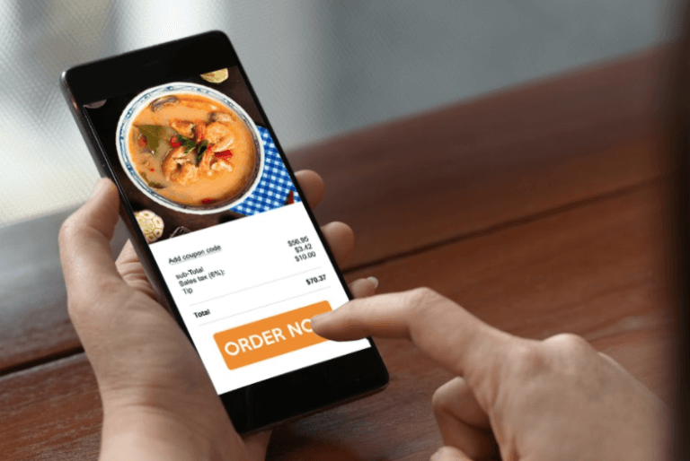Mobile food online ordering